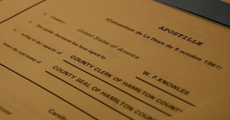 апостилизация документов в киеве